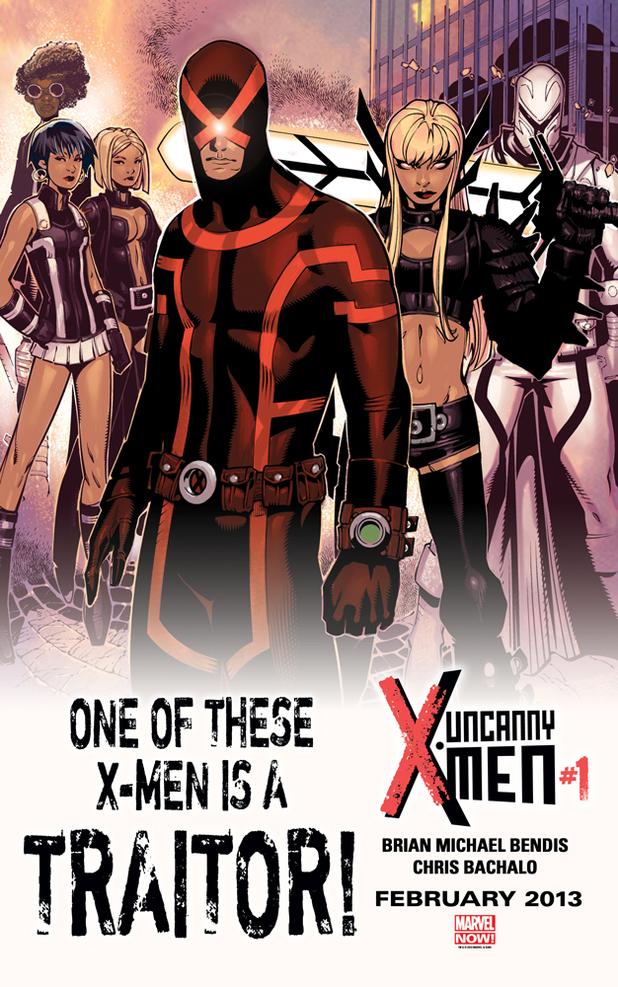 'Uncanny X-Men' traitor teaser