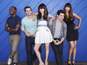 'New Girl' cast post picture with Coach