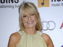 Gaby Roslin chased the man who stole her phone, she says on Twitter.