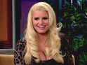 Jessica Simpson jokes her fiancé is proud that she got pregnant again quickly.