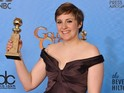 The actress and filmmaker takes home two prizes for HBO comedy Girls.