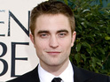 Robert Pattinson arriving at the 70th Annual Golden Globe Awards 2013 in Los Angeles