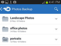 The free cloud-storage service arrives on Google Play in native app form.