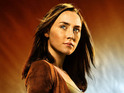 Saoirse Ronan fronts the latest poster from Twilight author's new movie.