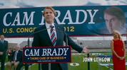 Will Ferrell stars as scandal-hit politician Cam Brady in the opening five minutes of 'The Campaign'.