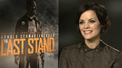 "Jaimie Alexander on ""sacrifice"" in 'Thor: The Dark World' and favouring swords over guns"