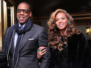Beyoncé and husband Jay-Z, President Obama's second inauguration, January 2013