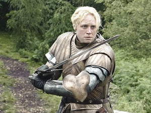 Game of Thrones - Season 3: Gwendoline Christie as Brienne of Tarth