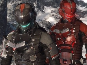 Mass Effect 3 armour in Dead Space 3