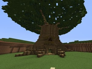 Zelda in Minecraft - Tree
