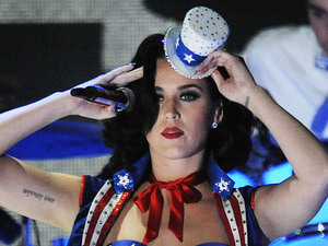 Singer Katy Perry performs during the Kids Inaugural Concert on January 19 2013 at the Convention Center in Washington, D.C. Photo By Olivier Douliery/ABACAUSA.com