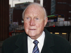 Stuart Hall leaves Preston Magistrates Court today after pleading not guilty to the sexual abuse of young girls.