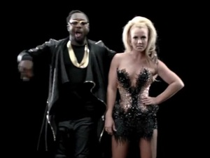 Britney Spears and will.i.am in 'Scream And Shout' music video