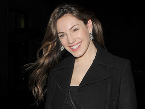 Kelly Brook leaves Rose club in London.