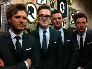 McFly Backstage at the NTAs