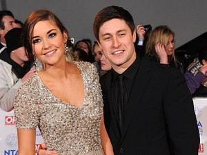 Jacqueline Jossa and Tony Discipline arriving for the 2013 National Television Awards at the O2 Arena, London.
