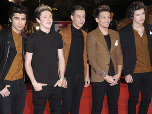 One Direction attend the NRJ Music Awards held in Cannes.