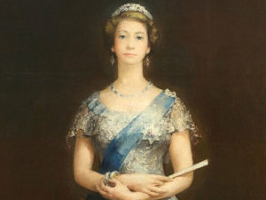 John Napper's portrait of The Queen