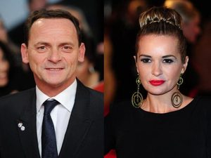 Perry Fenwick and Kierston Wareing