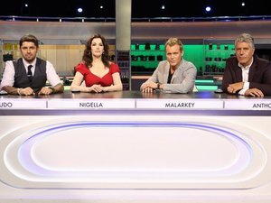 'The Taste' judges: Ludo, Nigella, Anthony and Brian