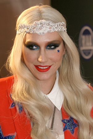 Ke$ha, RIAA Inaugural concert, Washington