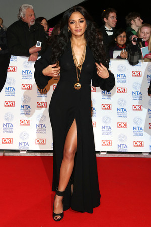 The National Television Awards (NTA's) 2013 held at the O2 arena - Arrivals Featuring: Nicole Scherzinger Where: London, England, United Kingdom When: 23 Jan 2013