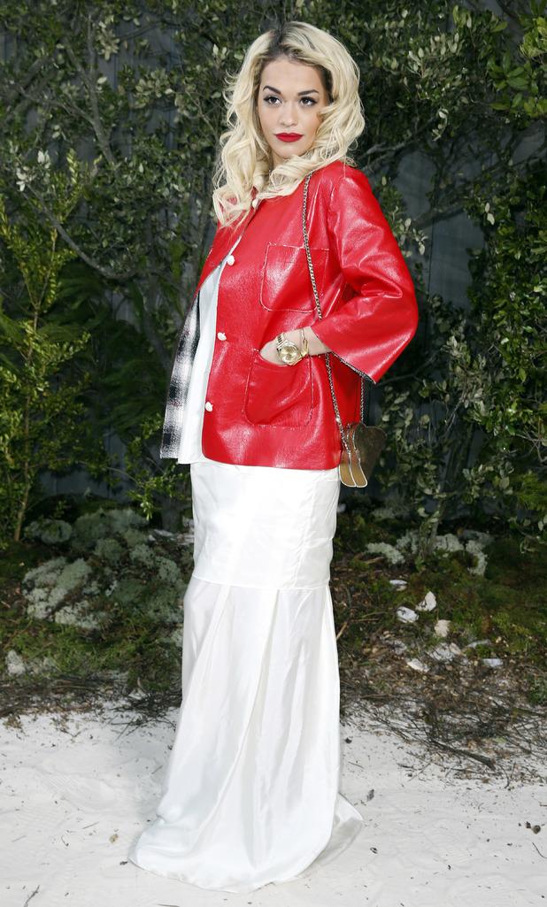 Paris Fashion Week Haute Couture Spring 2013, Chanel, Rita Ora