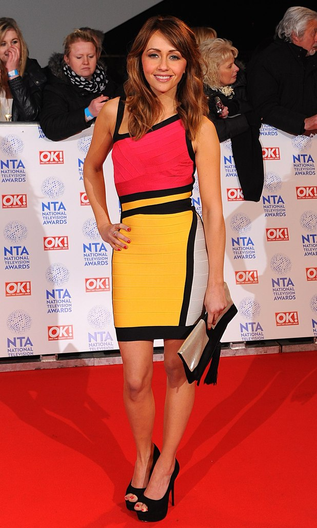 Samia Ghadie arriving for the 2013 National Television Awards at the O2 Arena, London.