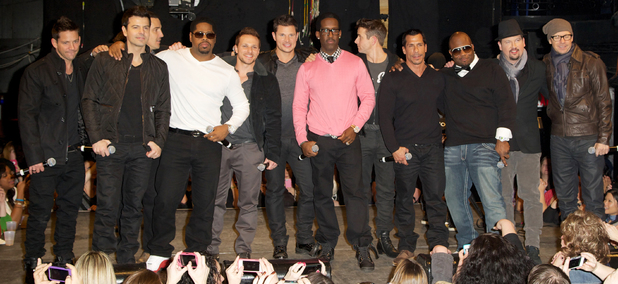 "New Kids on the Block, 98 Degrees, Boyz II Men announce ""The Package Tour"" at Irving Plaza"