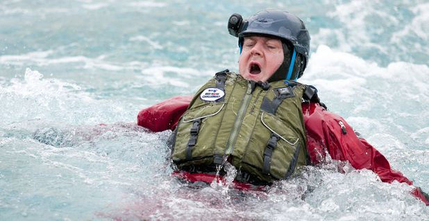 Comic Relief Hell and High Water challenge: Dara O'Briain.