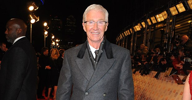 Paul O&#39;Grady arriving for the 2013 National Television Awards at the O2 Arena, London.