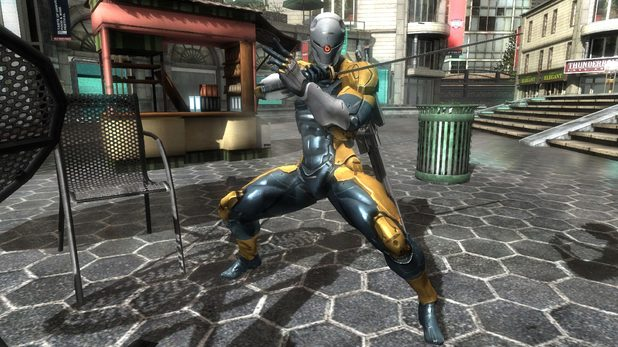 Metal Suit z Gray Fox Suit From Metal Gear
