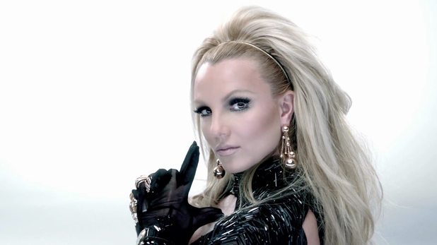 Britney Spears in 'Scream And Shout' music video