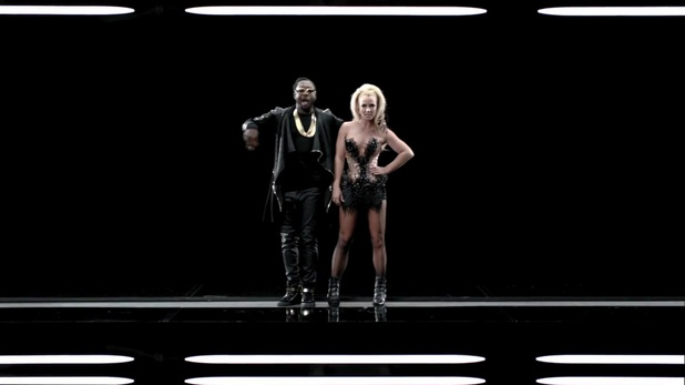Britney Spears and will.i.am in &#39;Scream And Shout&#39; music video