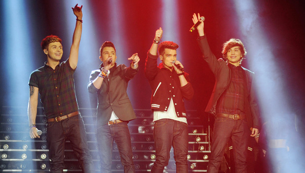 UnionJ performs at the start of the X Factor live tour at the Manchester ArenaFeaturing: UnionJ Where: Manchester, United Kingdom When: 26 Jan 2013 Credit: Steve Searle/WENN.com****Images cannot be used for publication after 27th March 2013****
