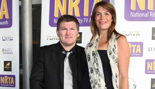 Ricky Hatton and Jennifer Dooley