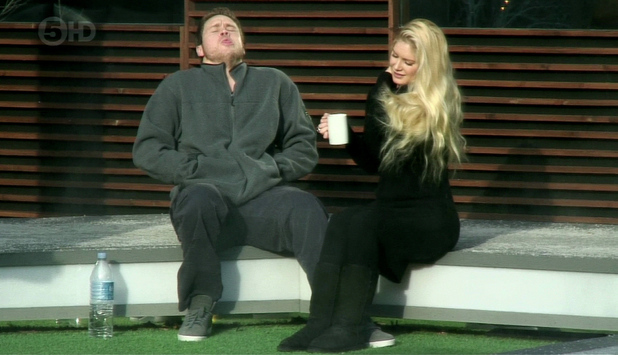Celebrity Big Brother Eviction. Shown on Channel 5 HD Featuring: Spencer Pratt,Heidi Montag,Heidi Pratt When: 21 Jan 2013