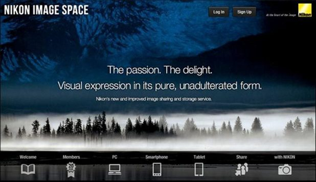 Nikon Image Space screenshot