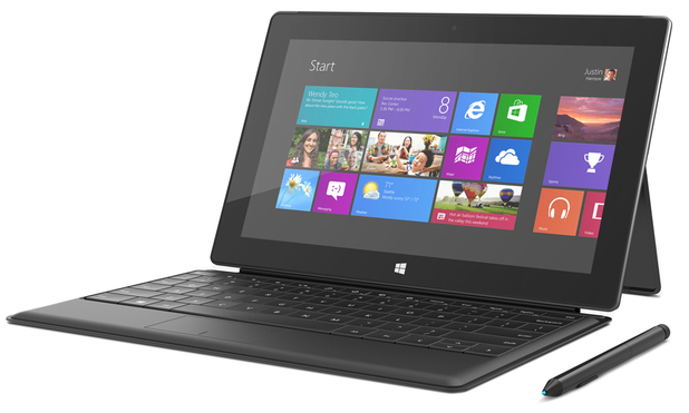 Surface Pro for Windows 8 tablets