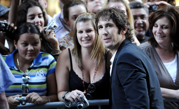 Josh Groban meets fans at a 2009 Nelson Mandela Day concert