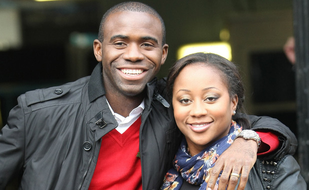 Fabrice Muamba and wife Shauna