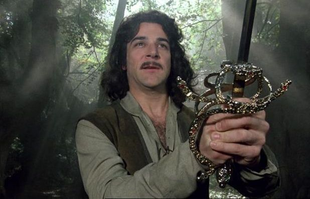 Mandy Patinkin as Inigo Montoya in Princess Bride