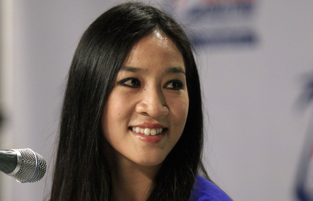 Michelle Kwan, olympic medal-winning figure skater-turned US diplomatic envoy