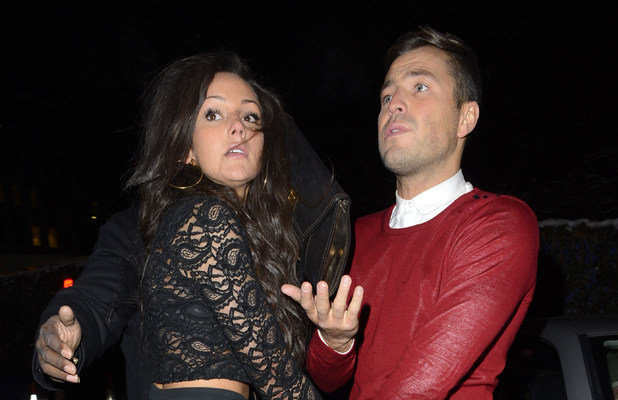 Mark Wright and Michelle Keegan leaving Jalouse Featuring: Mark Wright,Michelle Keegan Where: London, United Kingdom
