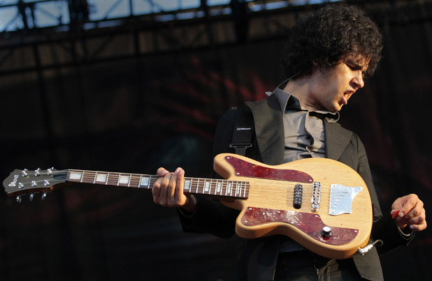 The Mars Volta guitarist Omar Alfredo Rodriguez-Lopez performs during the Bonnaroo Arts and Music Festival in Manchester, Tenn., Saturday, June 13, 2009.