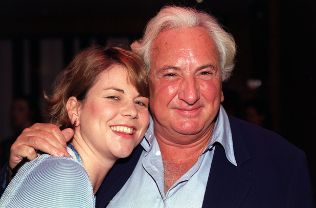 Michael Winner and Vanessa Perry