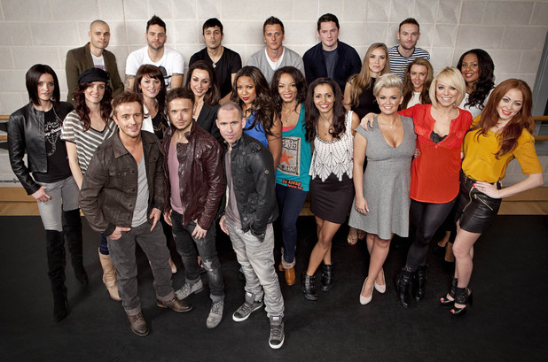 The Big Reunion pop bands - 5ive, Atomic Kitten, Kiberty X, 911, B*Witched and Honeyz