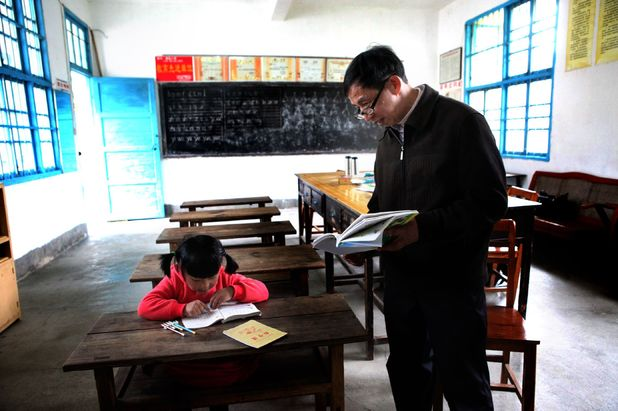 School has just one pupil in China