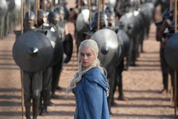 Game of Thrones - Season 3: Emilia Clarke as Daenerys Targaryen
