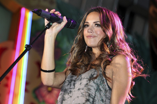 Jana Kramer, ACM Fremont Street Experience, March 2012